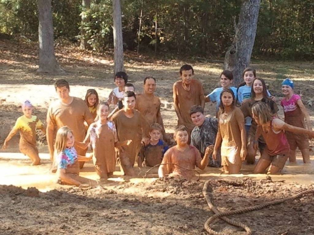 Youth Group Mud Pit